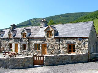 YSGUBOR, pet friendly, luxury holiday cottage, with hot tub in Dinas Mawddwy, Ref 2593 - Dinas Mawddwy vacation rentals