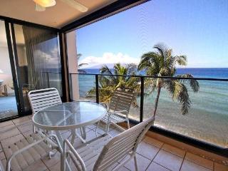 Mahana Resort #606 Deluxe Ocean Front - Lahaina vacation rentals
