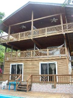 Casa Ladera Roatan West End 6 brs, pool, 3 lvls