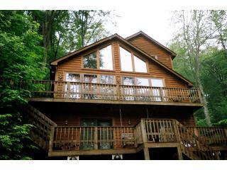 Cinnamon Fern Chalet in May. - Canaan Valley 3 bedroom chalet - Canaan Valley - rentals