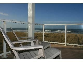Private Deck - none closer to the surf - 722 Westport - Westport by the Sea Oceanfront - Westport - rentals