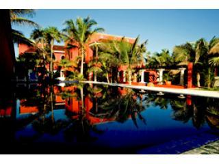 The pool as seen from the beach - Casa Buena Suerte - Tulum - rentals