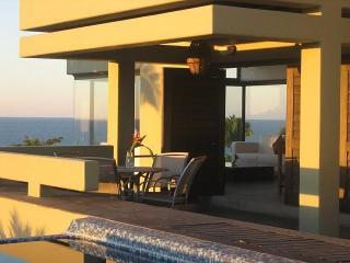 Modern design, Big Private Saltwater Pool! Pano ocean/town/jungle VIEWS! - Sayulita vacation rentals