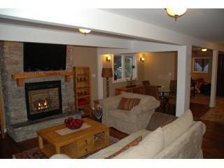 Living Room - The Powder Lodge - Revelstoke - rentals
