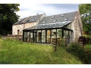 Conservatory at the back of Mill - Migdale Water Mill - Bonar Bridge - rentals