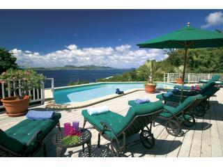 View from the pool deck - ChocoCruz - St. John with a View - Cruz Bay - rentals