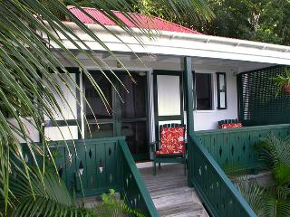 Windwardside Cottage: ocean view, spa, quiet, romantic - Virgin Islands National Park vacation rentals