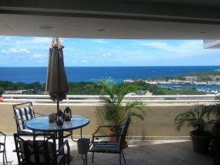 View of Piscadera Bay from Outdoor Terrace - La Estancia Luxury PH; next to Hilton Resort - Curacao - rentals
