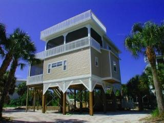 Front View - North Captiva Vacation Home - Cinco De Mayo - 4 BR/3.5 BA - Sleeps 10 In Beds - Captiva Island - rentals