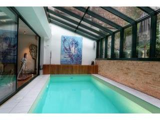 Paris-Oasis pool  5,5 m x 2,5 m. - PARIS-OASIS, from1up to15 pax, rated excellent on - Paris - rentals