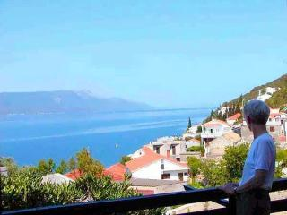 View from Apartment Tedo balcony - Apartment Tedo, clean, spacious, great sea view - Klek - rentals