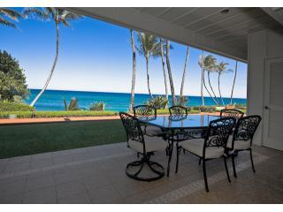 View from the condo lanai - Hale Awapuhi - Oceanfront Two Bedroom Condo - Kapaa - rentals