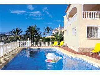 Villa Tranquilo Moraira, pool, air-con, great view - Moraira vacation rentals