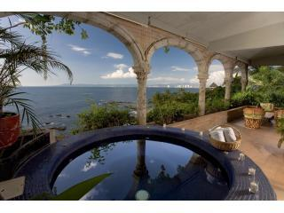 View from the Heated Jacuzzi - Vida Alta - Casa Tres Vidas - Beachfront Penthouse - Puerto Vallarta - rentals