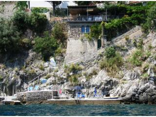 La Casetta seen from the sea - La Casetta - Exclusive villa  private sea access - Ravello - rentals