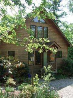 Magnolia outside - Jessie's Magnolia, Asheville Cabins of Willow Wind - Asheville - rentals