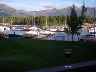 Relaxing On Our Deck Overlooking Lake and Dock. - 3 Bedroom Tahoe Keys Condo, Boat Dock, Garage - South Lake Tahoe - rentals