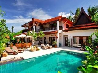 Baan Lotus 4 Bedroomed Luxury Beach Villa - Lamai Beach vacation rentals