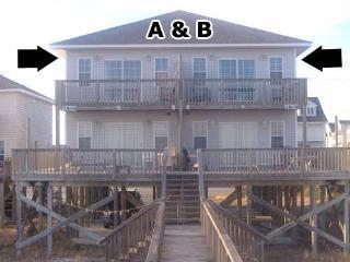 Bookhardt, 3804 & 3806 Island Drive - Surf City vacation rentals