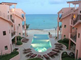 Luna Encantada 2 BR beachfront w rooftop terrace - Playa del Carmen vacation rentals