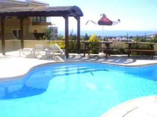 Pool with Sea View - 2 Bed, 2 Bath Apartment with Sea & Mountain Views - Peyia - rentals