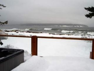 Seaside Cottage on the ocean hot tub gas fireplace - Campbell River vacation rentals