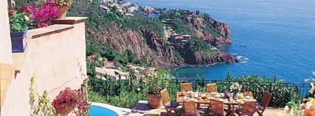Tresor Azure Theoule-sur-mer luxury villa rental - Cote d'Azur - Image 1 - Cote d'Azur- French Riviera - rentals