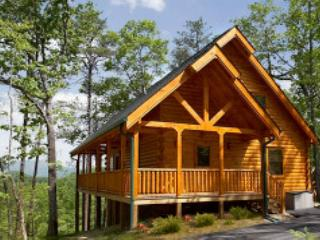 Nice Mountain Views and Privacy in a Luxurious Pigeon Forge Log Cabin! - Tennessee vacation rentals