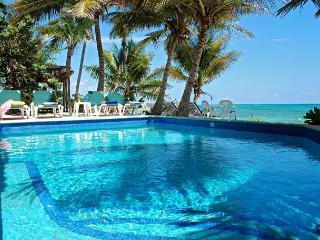 Charming Hacienda style villa in South Akumal with guesthouse. - South Akumal vacation rentals