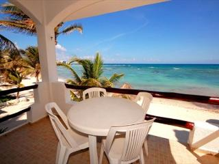 BEACHFRONT CONDO! Perfect Location! Great Snorkleing! Everything you Need! - Akumal vacation rentals