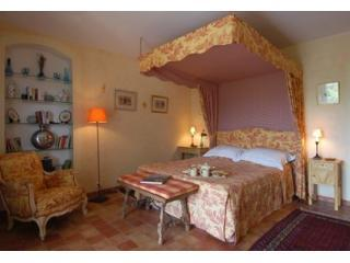 "Bedroom in ""Le Genêt"" - Les Olivettes, Luxury 1 Bedroom Apartment Luberon - Lourmarin - rentals"