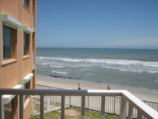 Views from Side of Balcony, Incredible Views from Front of Balcony  facing Southeast!! - Magnificent Oceanfront Balcony & Views  $795 week - Satellite Beach - rentals