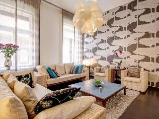 Opera luxury apartment 115sqm 2br A/C wifi - Budapest vacation rentals