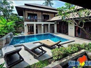 4 bed private villa in luxury Kirikayan resort, Maenam sleeps 9 - Mae Nam vacation rentals