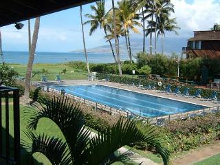 Waiohuli Beach Hale #D-221 Oceanfront Ocean View 1 Bd 1 Ba  Great Rates!! - Kihei vacation rentals