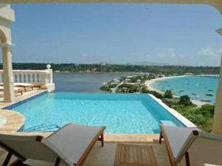 Situated in North Hill overlooking the Sandy Ground harbor. 180-degree view of St. Martin. IDP NIR - North Hill vacation rentals