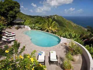 Enjoy the ocean views from this 10- acre property. MAT CAN - Road Town vacation rentals