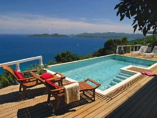 Unforgettable blue ocean views abound from this exquisite villa. MAT TOA - Road Town vacation rentals