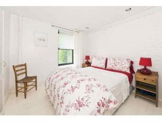 Queen Bed, large closet to the right - W Village Townhouse - Live Like a Local! - New York City - rentals