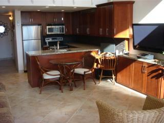 Stainless Appliances with granite and cherrywood - ZzzSleeps7 Stunning 2 story wall of glass Oceanfrt - Maalaea - rentals