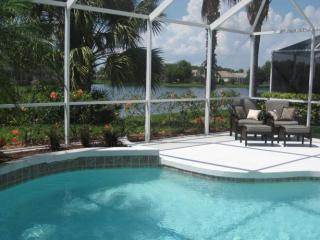 Relax at your own private pool with beautiful lake views - Perfect relaxation-University Park,golf,beach,pool - Sarasota - rentals