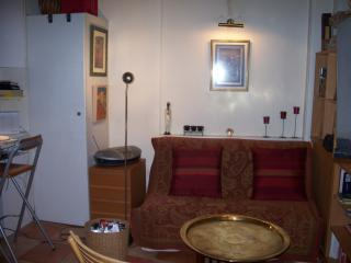 The living area with sofa bed - Welcoming, charming, convenient apartment - Ile-de-France (Paris Region) - rentals