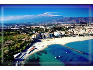 Giardini Beach with Etna in the background - Sea View - Naxos Bay and Taormina - Best Location! - Giardini Naxos - rentals