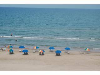 Balcony view - Ocean front 2 bedroom Seabreeze Beach Resort - South Padre Island - rentals