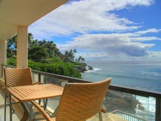 Gorgeous Ocean Front Condo, S. Shore, Poipu, Kauai - Koloa vacation rentals