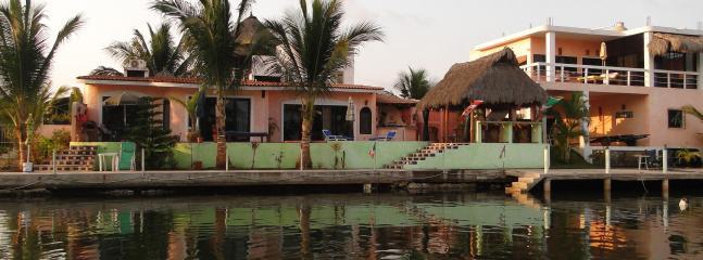 Entire Villa from water - Waterfront Penthouse - Barra de Navidad - rentals