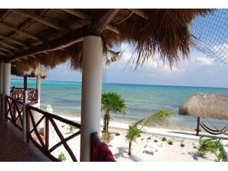 View from the veranda - SOLIMAN BAY/TULUM MEXICO Villa w/ Private Beach! - Soliman Bay - rentals