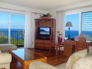 Alii Kai 7204: Oceanfront top floor corner condo, great for whale watching! - Princeville vacation rentals