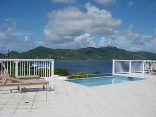 Spacious Deck with Inviting Pool - POINTS of VIEW, EAST END, St. JOHN - Coral Bay - rentals
