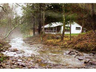 Creek and Farm House - Bryson City North Carolina, 1930's Farm House - Bryson City - rentals